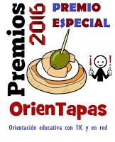 PREMIOS ORIENTAPAS 2016. PREMIO ESPECIAL