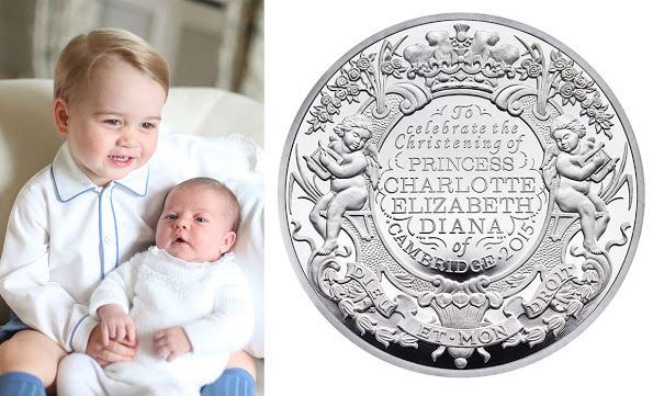 Royal Mint Unveiled A New Coin In Honor Of The Baptism Of Princess Charlotte