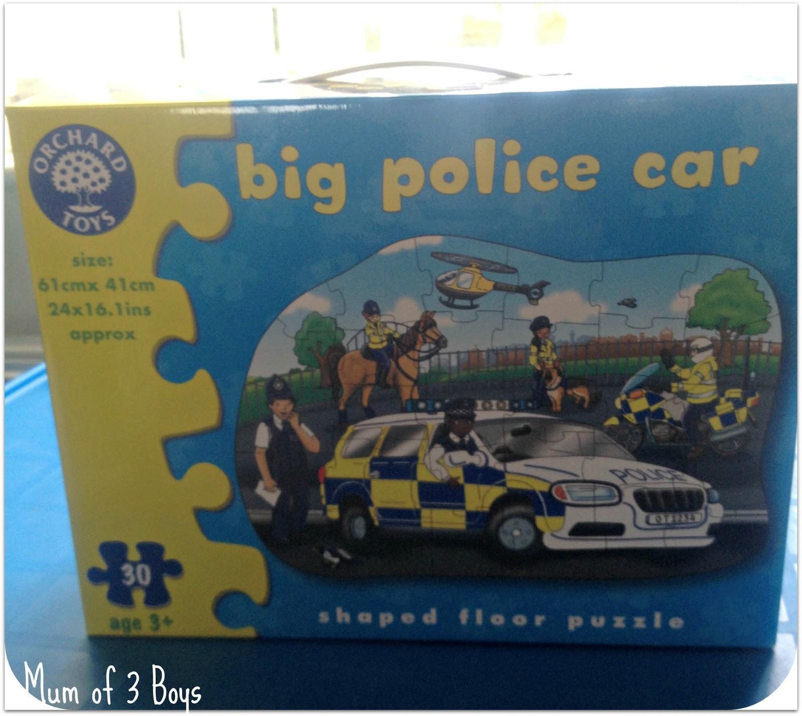 Big Boy Toys Police : Mum of boys