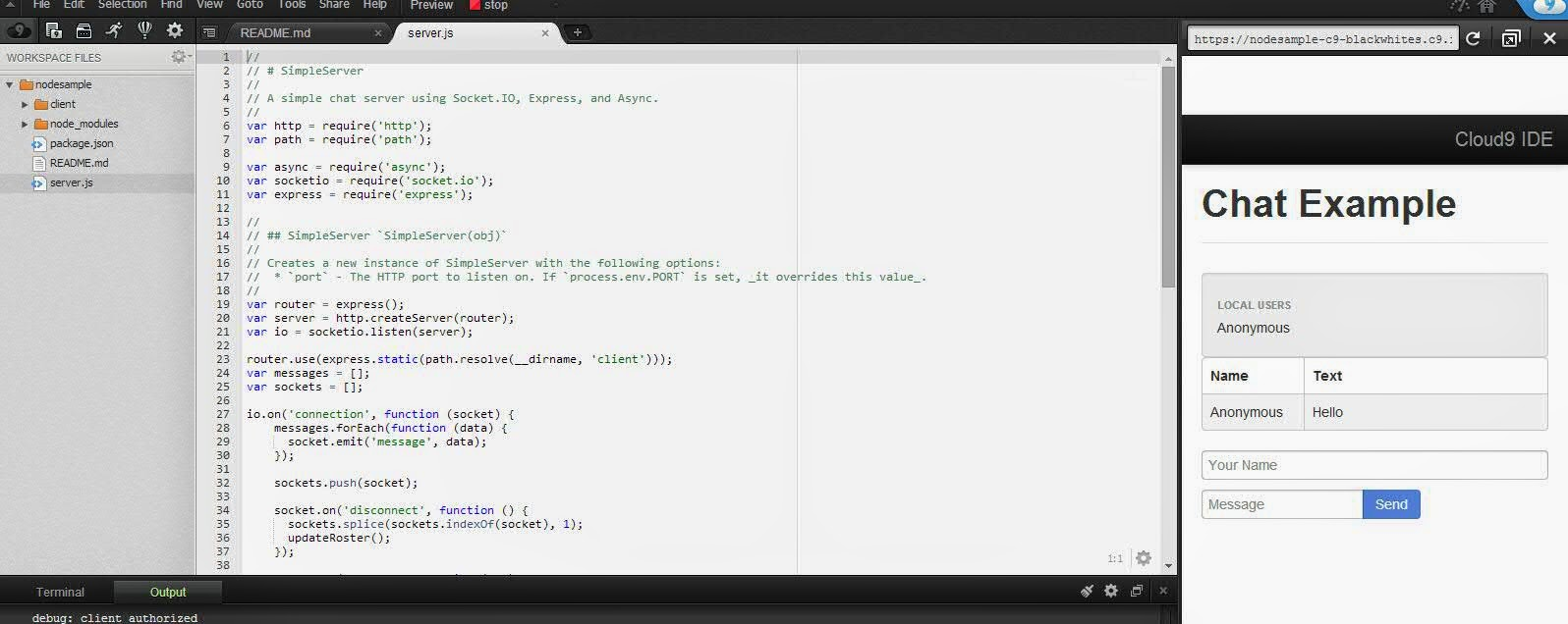 node.js how to start project