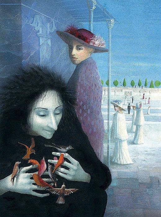Julia Gukova 1961 | Russian illustrator painter