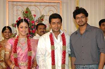 Surya Jyothika Marriage