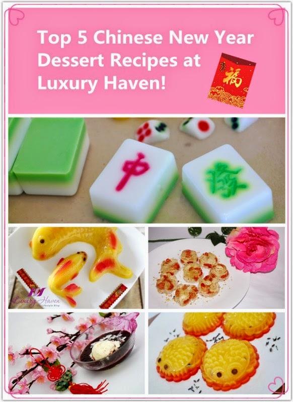 creative chinese new year dessert recipes food art