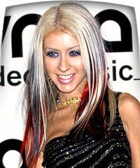 Christina Aguilera Hair Color