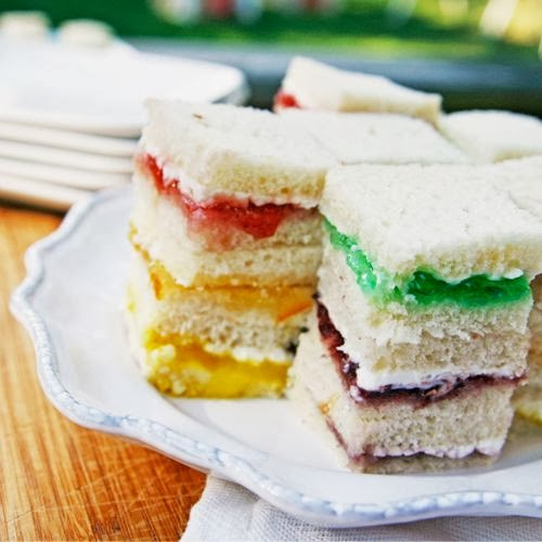 http://www.tablespoon.com/recipes/rainbow-cream-cheese-sandwich-bites/c177a632-6e07-4dc2-bd2d-de22d5e7ce29
