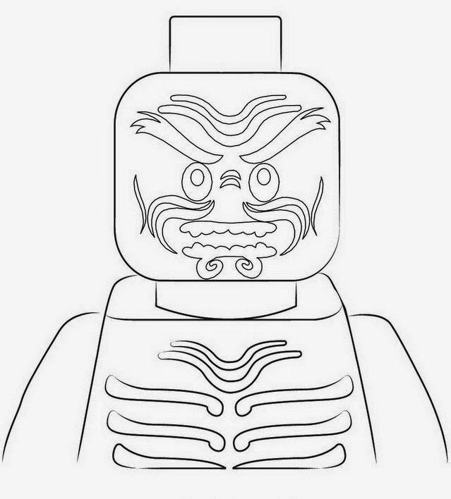 Choose Best Coloring Page Ninjago Lord Garmadon Coloring Pages