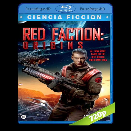 Los orígenes de la facción roja (2011) BrRip 720p Castellano/Inglés AC3+subs
