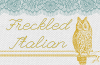 freckled italian button