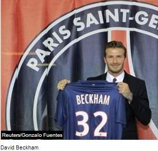 Beckham Resmi  digaet Oleh PSG