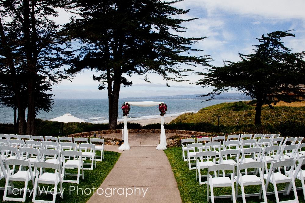 Seascape monterey wedding