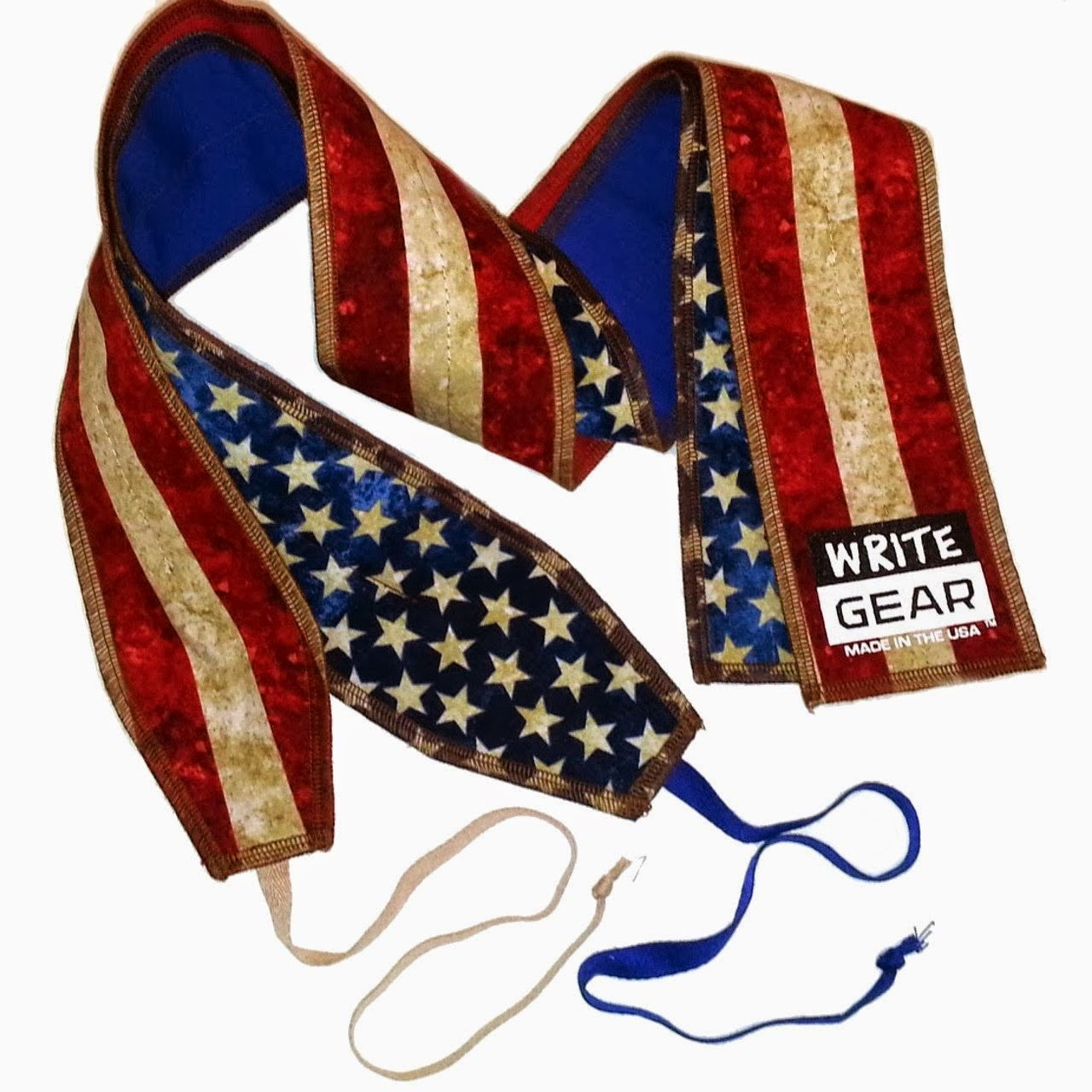 Style Athletics Wrist Wraps Write Gear Stars Stripes Patriotic