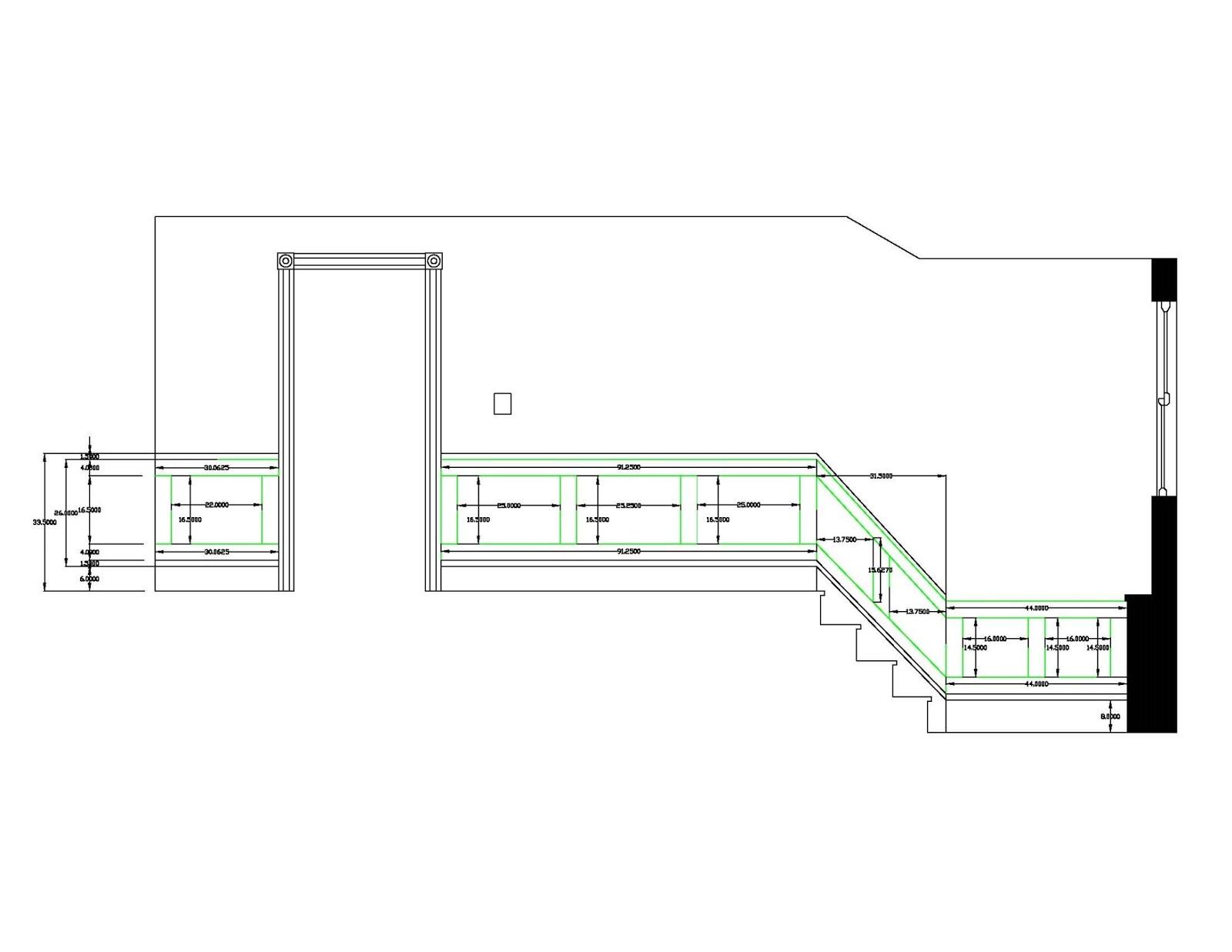 Floor Elevation Measurement : High street market rd floor diy wainscoting and trim