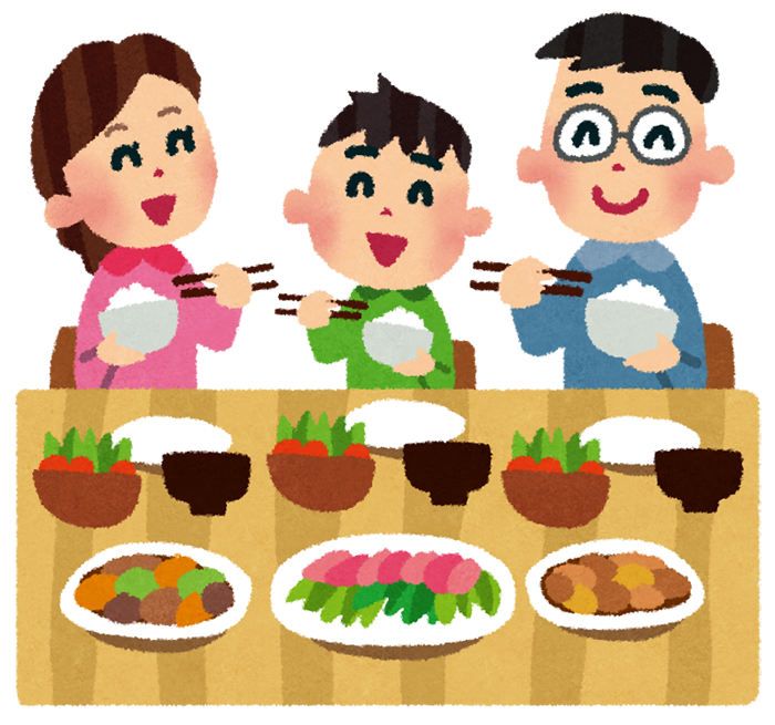 「食卓 イラスト」の画像検索結果