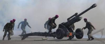 Foto Kunjungan Taruna AKADEMI TNI Dan AKPOL Di Sarang Petarung Marinir