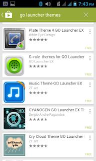Go Launcher Ex Pic 4