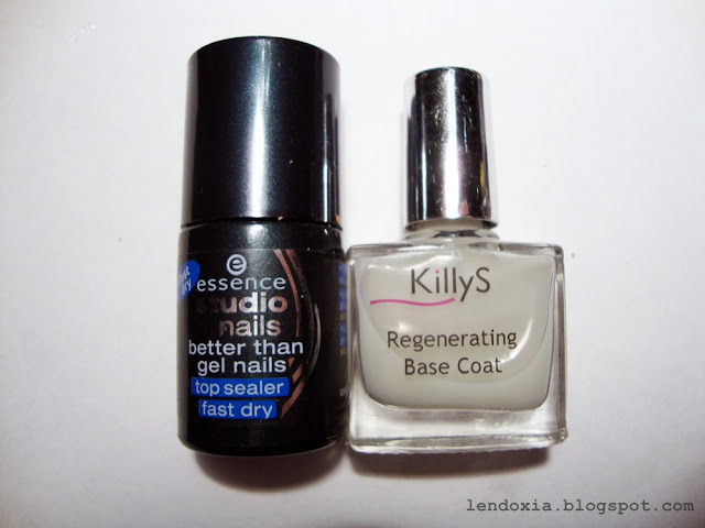 killys regenerating base coat essence btgn fast dry