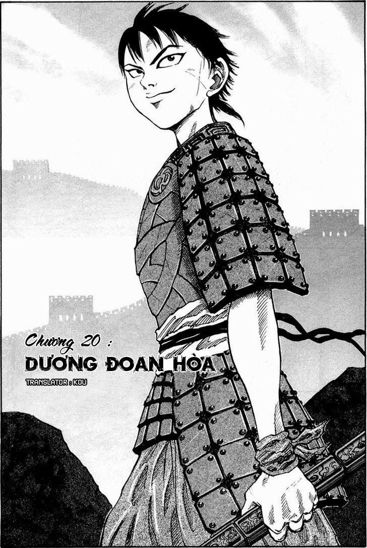 Kingdom - Vương Giả Thiên Hạ  Chapter 20 page 6 - IZTruyenTranh.com