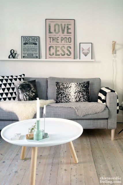 Nordic style living room