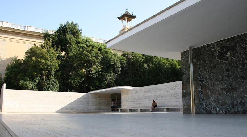 ilaria ceriani: BARCELLONA_il Padiglione di Mies van der Rohe