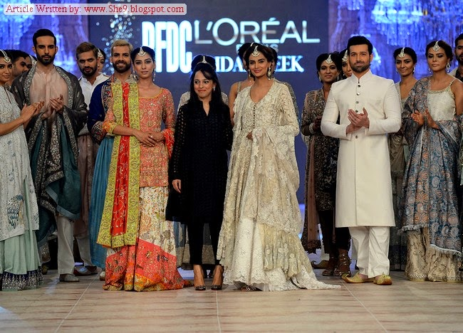 Nida Azwer Dresses at Bridal Fashion Show