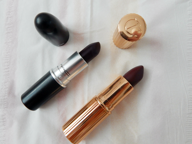 Autumn Lipsticks - MAC Instigator & Charlotte Tilbury Glastonberry