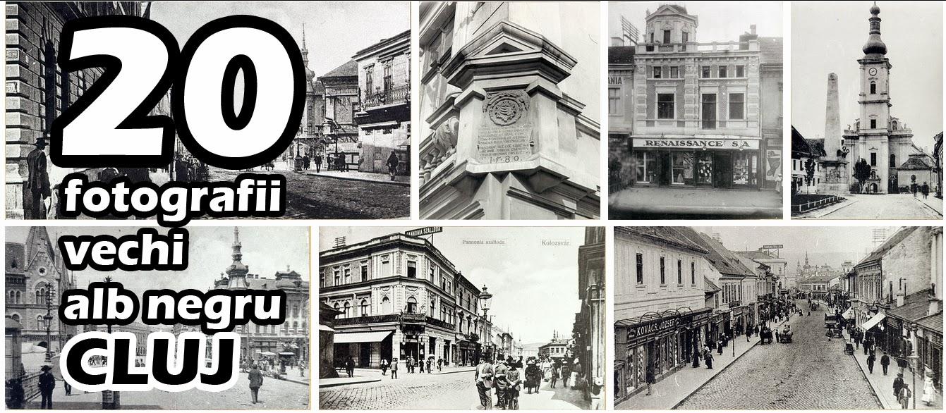20 poze vechi, fotografii alb negru din Cluj
