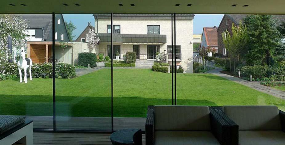 vetrate da esterno scorrevoli : serramenti minimalisti