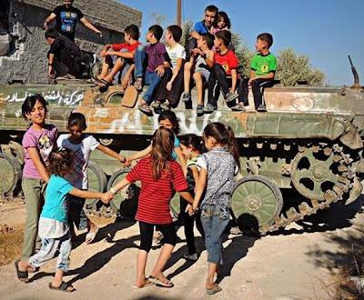 Raya Kanak-Kanak  Di Bumi Syria Yang Menarik !!![ Bergambar ]