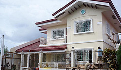 Philippines house plans and floor designs for bungalow houses 2 storey bedroom with small sample model style.
