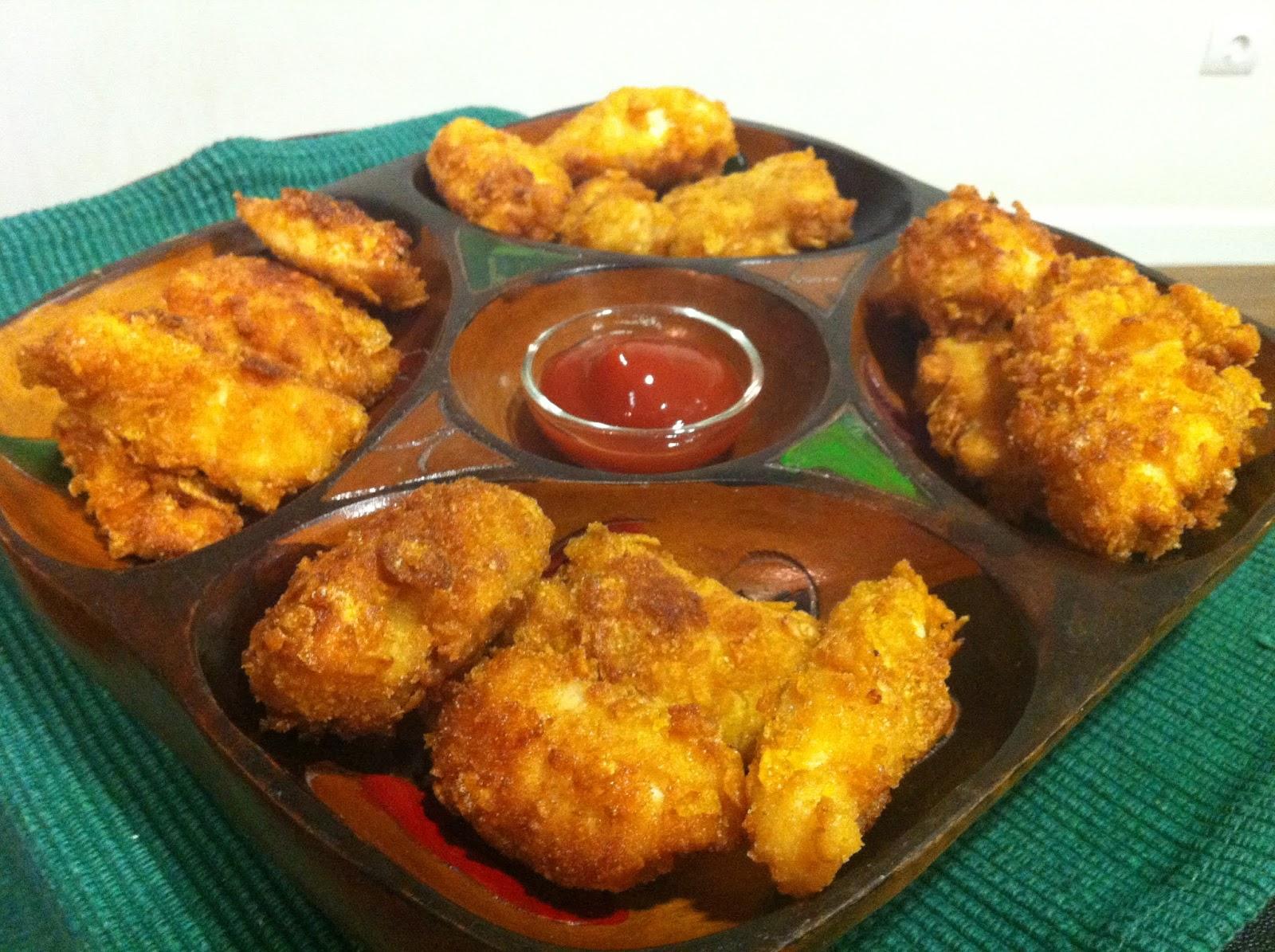 Qu hago de cena nuggets de pollo crujientes for Que cenar rapido