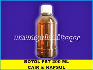 Botol PET Sano Amber/Cokelat