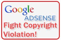 Google AdSense - Fight Against piracy