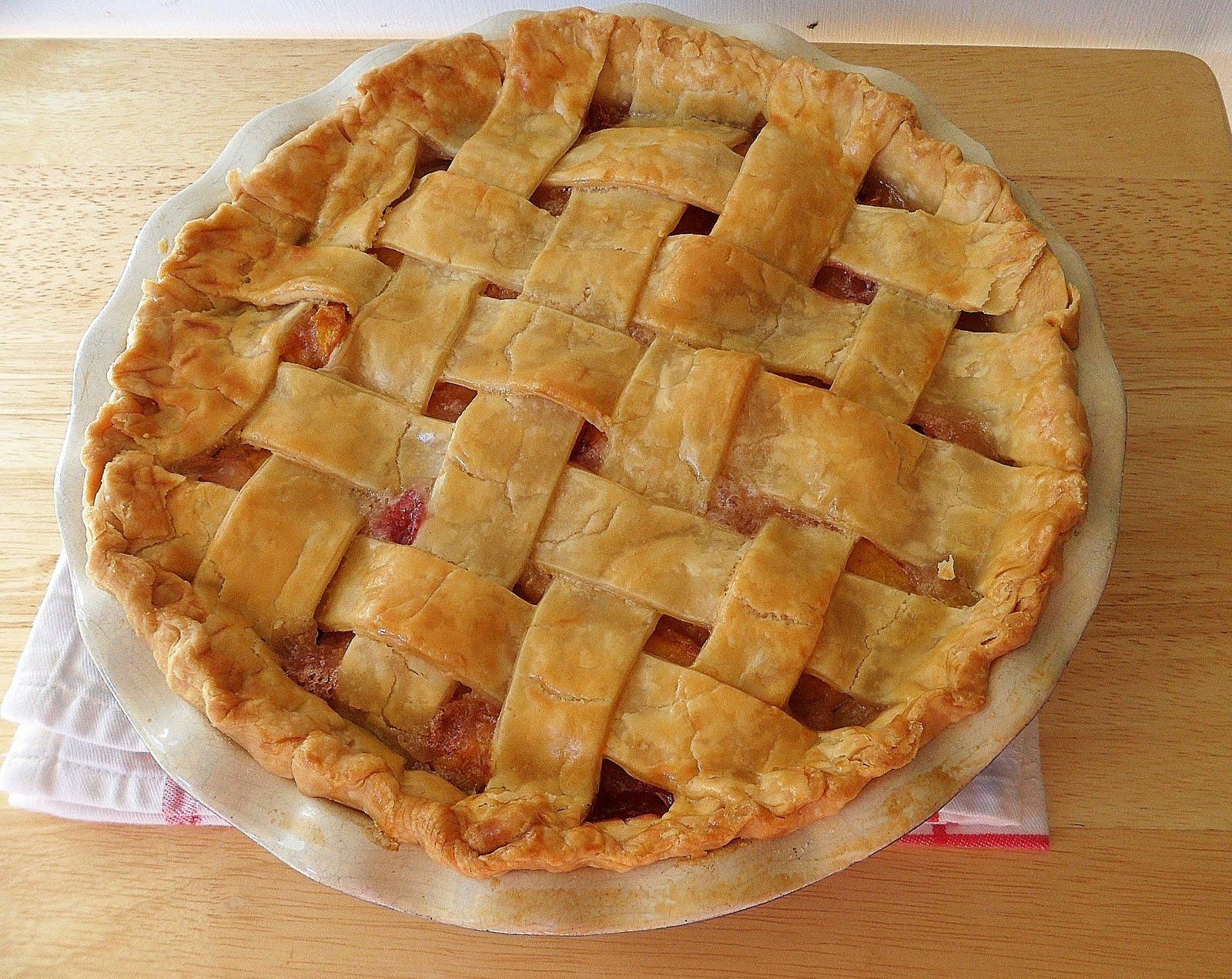 Sage Trifle: Old Fashioned Peach Pie