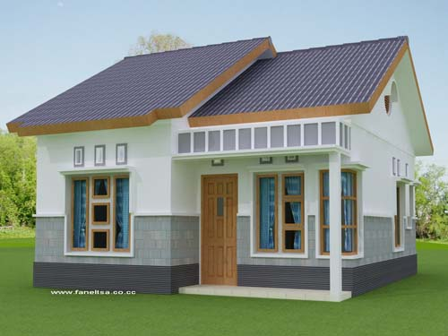 Creating simple home designs for Simple house exterior design