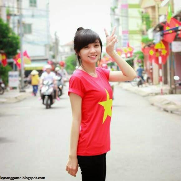 Thí sinh dự thi Nữ Hoàng Cổ Động Nguyễn Thị Kim Yến 1