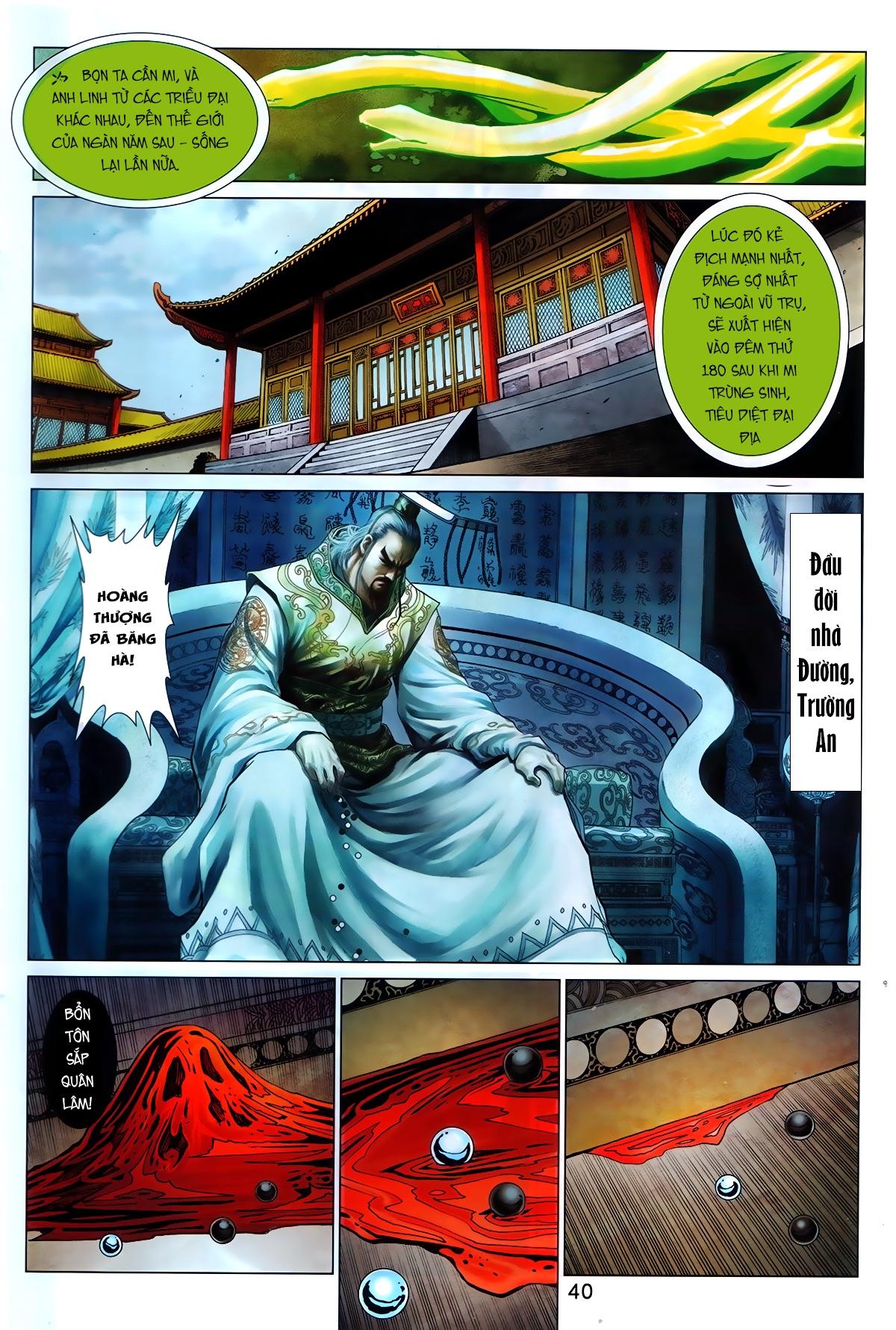 Hoàng Triều Quân Lâm Chap 1.2 - Next Chap 2