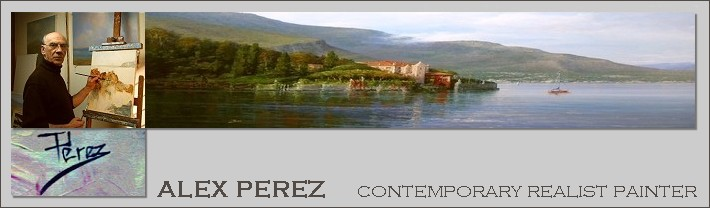ALEX PEREZ  Contemporary realist painter