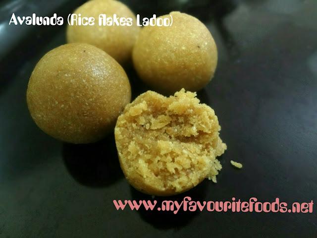 rice flakes Ladoo