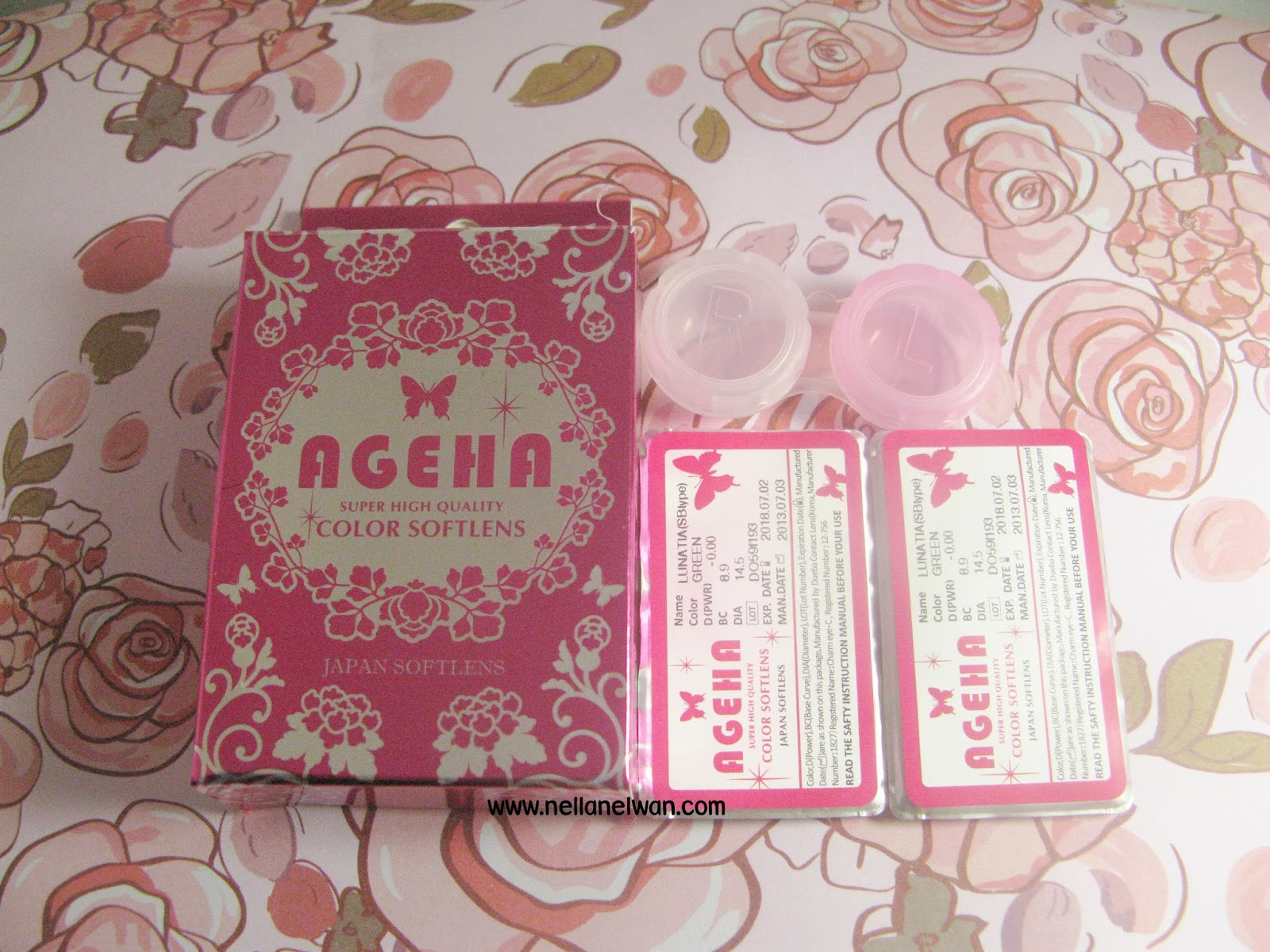 review ageha lunatia green