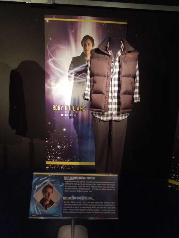 Arthur Darvill Rory Williams costume Doctor Who