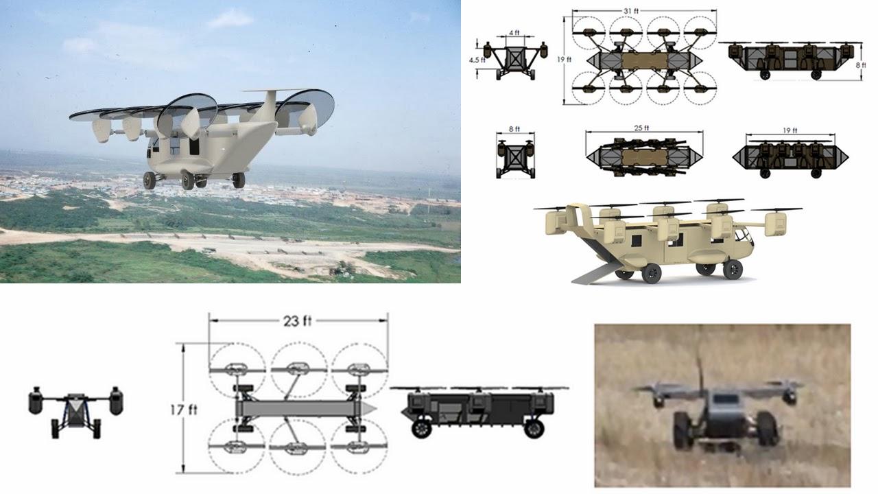quadcopter tripulado
