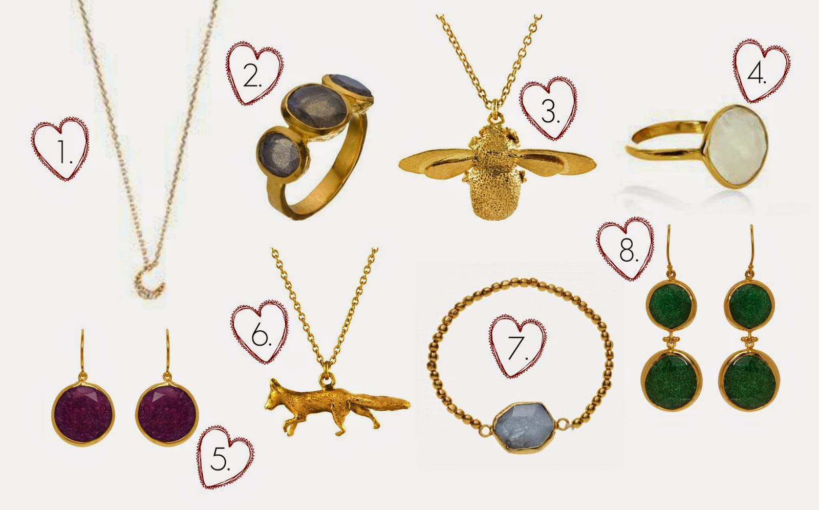 Biba and Bumble: Trend Report // Natural Style Jewellery