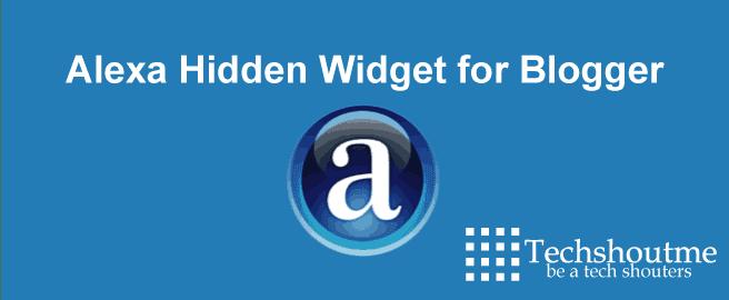 Invisible Hidden Alexa Widget