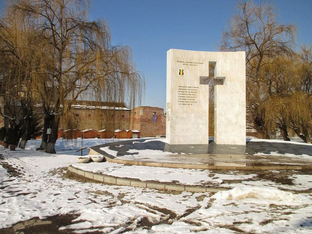 Monument anticommunist resistance in the Fagaras Country