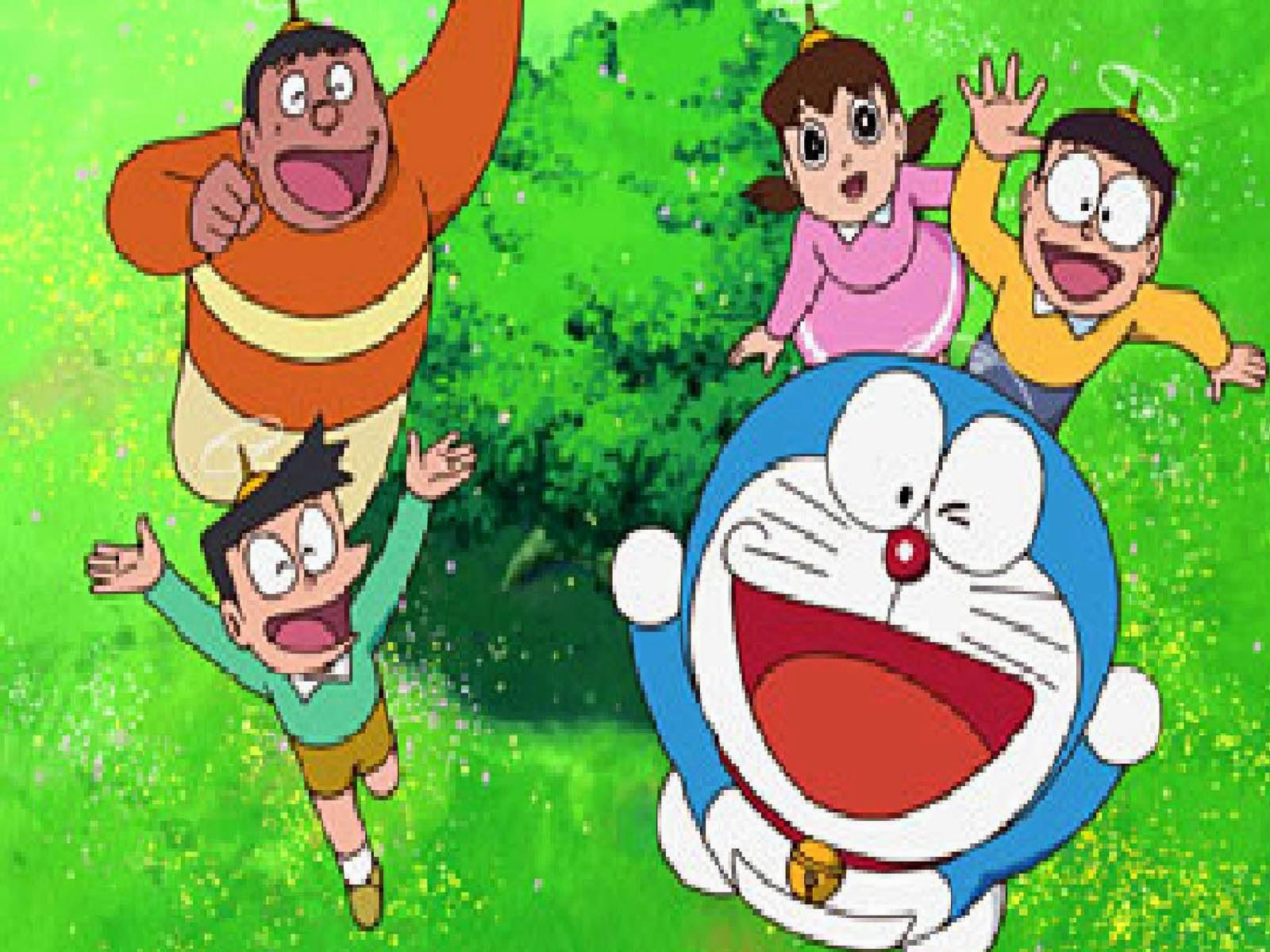 Cara Membuat Gambar Kartun Doraemon
