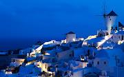 Oia Windmills Santorini, Grecia.Amazing places of Greece (oia windmills santorini italia italy )