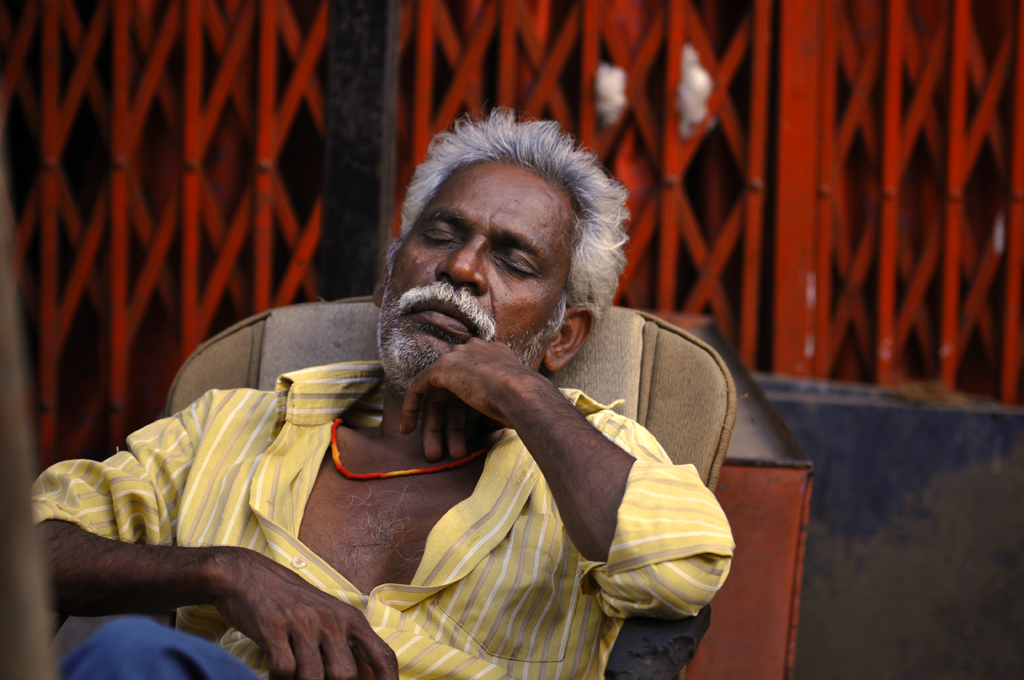 Photo of a man in Mumbai
