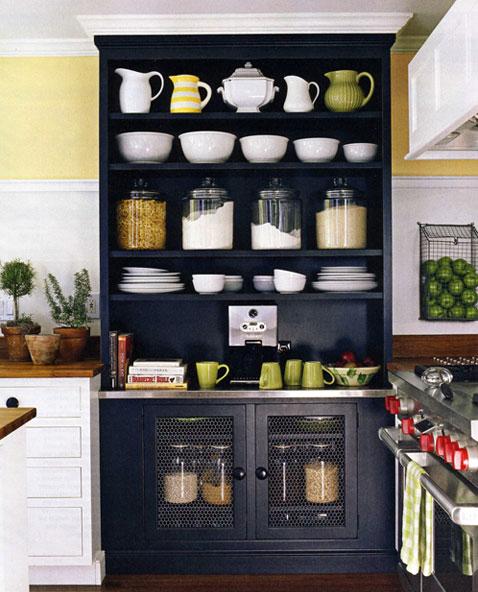 All Things Beautiful: Kitchen Cabinets // Pantry // Fridge