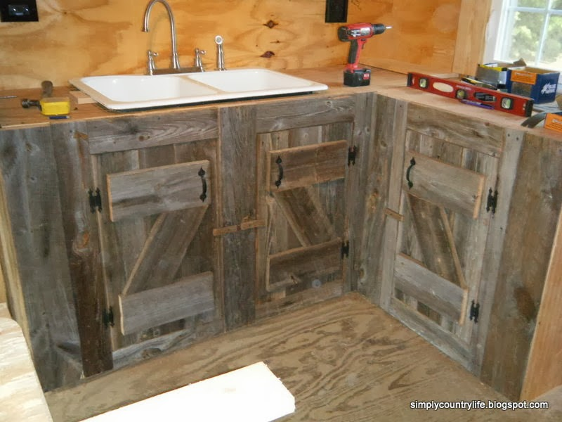 Simply Country Life Cabin Chronicles Part 12 Reclaimed Barnwood