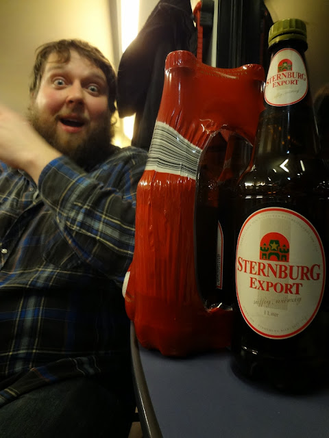 Leipzig German beer train